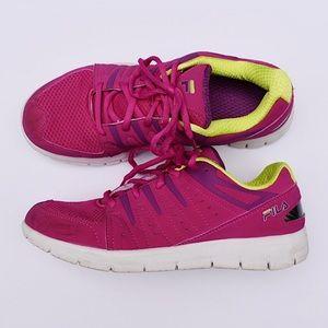 Fila Bold Color Blend Athletic Tennis Shoes// 7